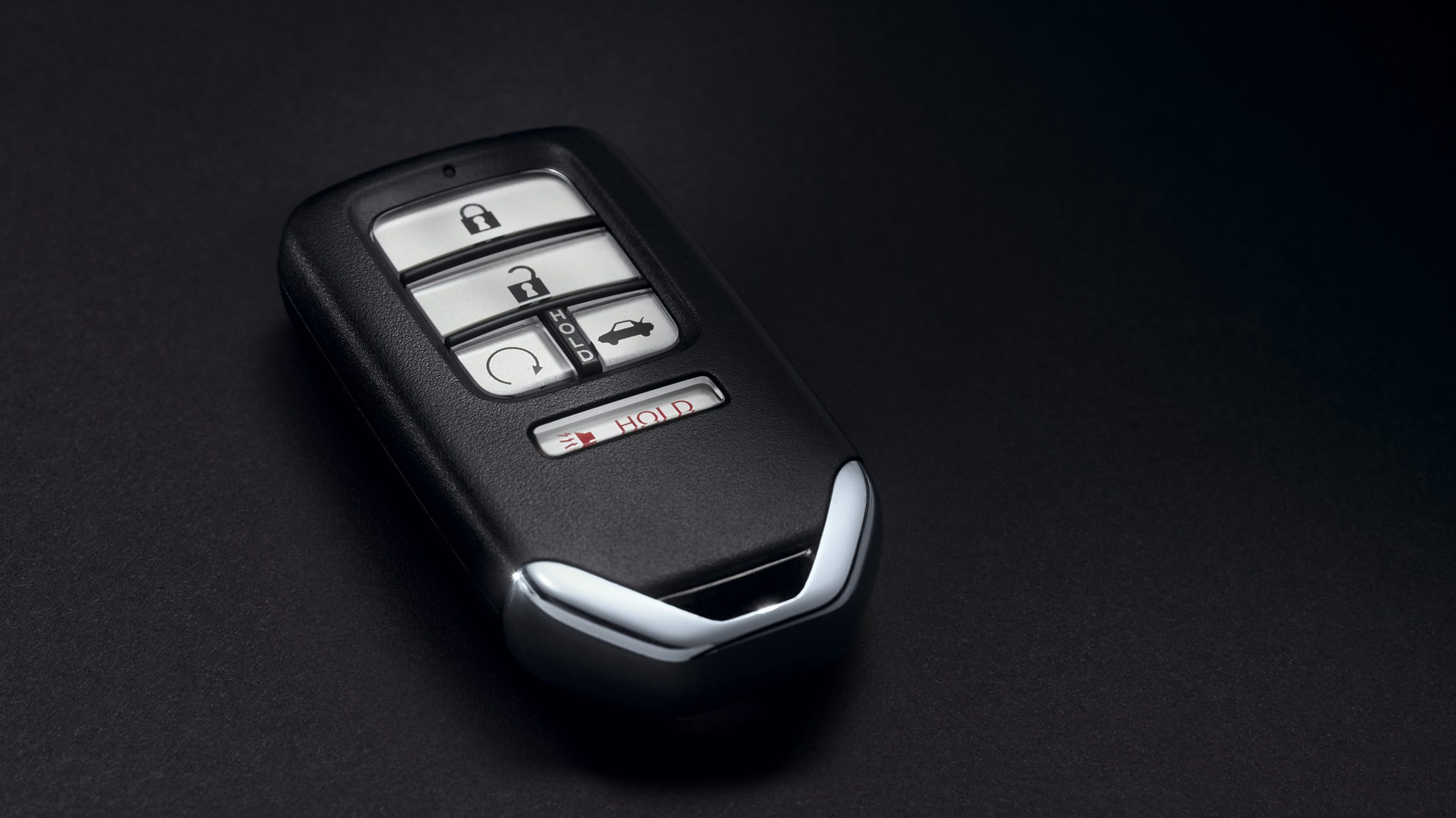 Key fob detail on 2020 Honda Insight.